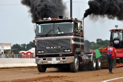 Chad Maney pulling at the Buck 6-18-11