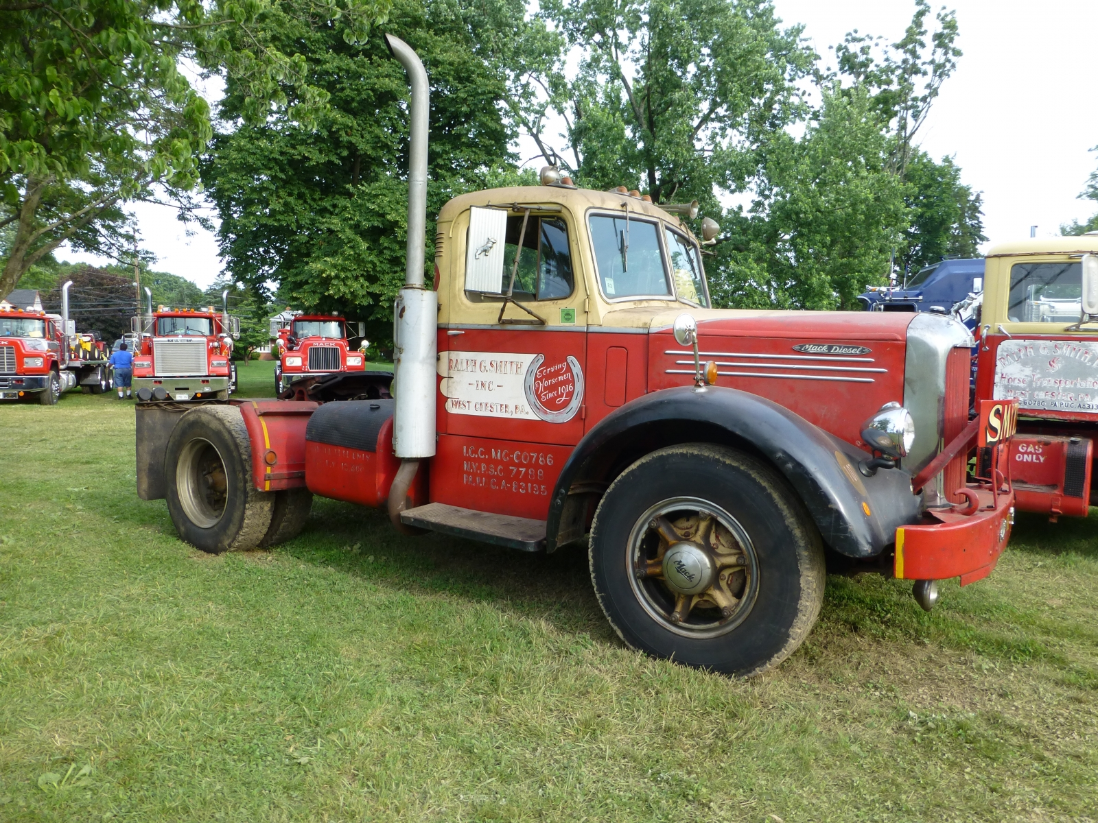 1950 To 1965 Mack Trucks : Mack lft bmt member s gallery click here to view