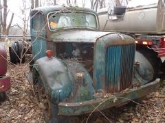 Mack B model junk yard