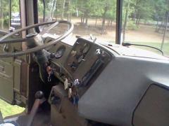 passenger side interior