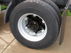 Rear Wheel Painted Closeup