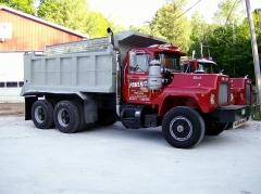 paverite dump truck