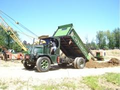 Dumping load #1.