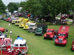 Our line-up from at Macungie in 2010.