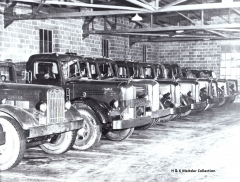 jones motor Tractors In Shop