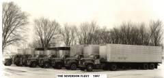 Severson Transport Fleet  (circa winter 1957)