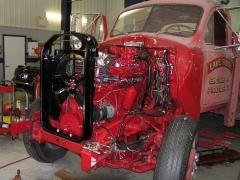 707C Engine Rebuild