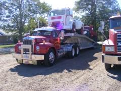 64 B Model ,56 White 3000,49 Ford2 ton