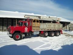 Trucks from work