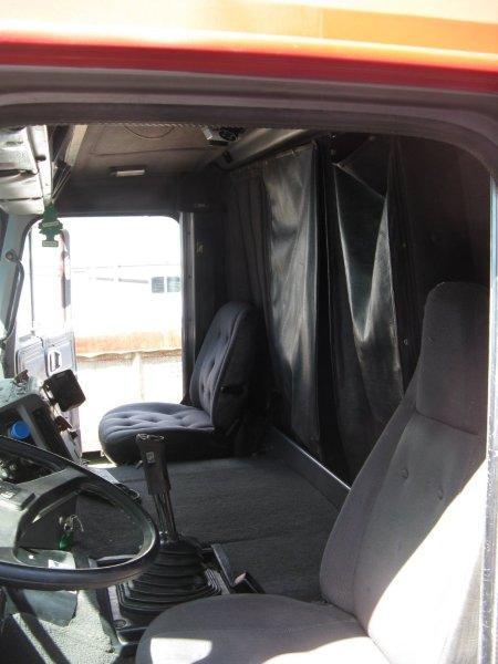 cab bunk curtain