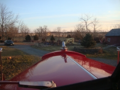B 81 Mack Looking out over the hood