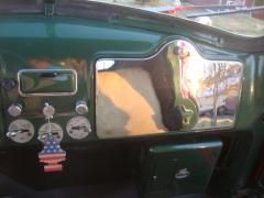B 81 Mack Chrome Glove Box Cover