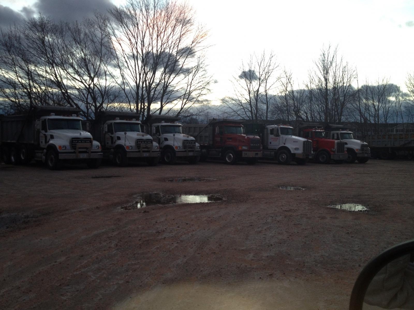 Dirt haulers
