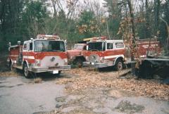 MACK CF600 FIRE