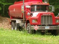 1993 Mack RB Oil Truck