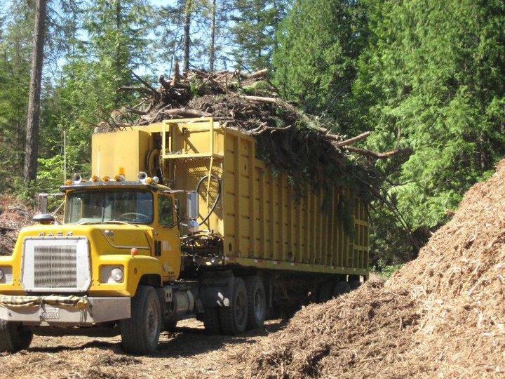 mack Off Rod brush haul