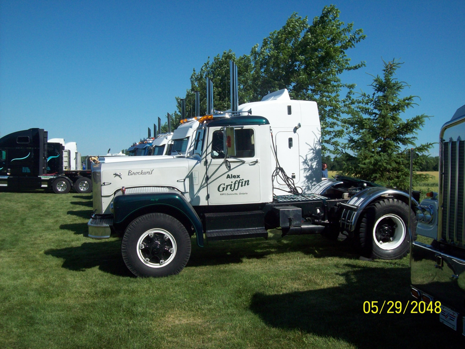1958 Brockway at Clifford truck show
