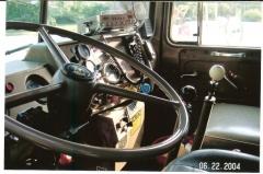 Inside My Mack drivers side