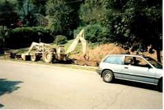 64 Ford Backhoe In The 80's