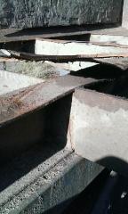 A few cracks found