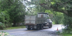 Mack CH dump truck