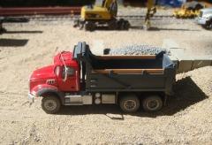 Mack Granite GU813 6x4 benne dump