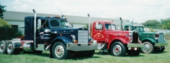 1952 LTL in blue, 1951 LTL in red, 1952 LTL in green
