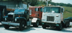 Mack B and tandem F model in Westminster, VT.