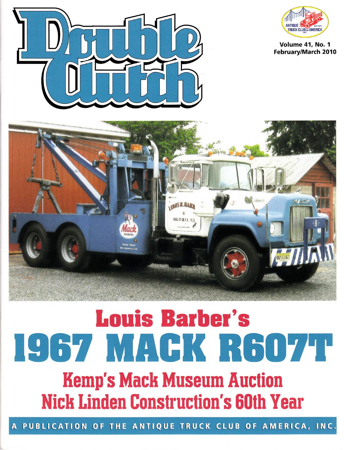 1967 Mack Wrecker    Louis Barber