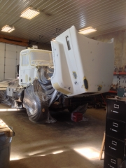 Cab ready For paint