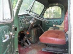 1958 Mack Left interior