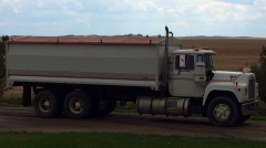 Our Mack Grain Trucks