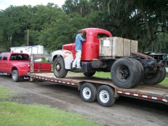 Loaded for shipping to the docks at Brunswick GA