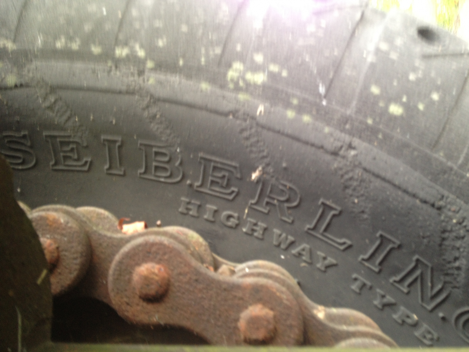Cool old tires.   No good.