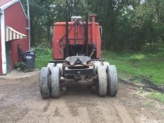 Rear wheel spacing