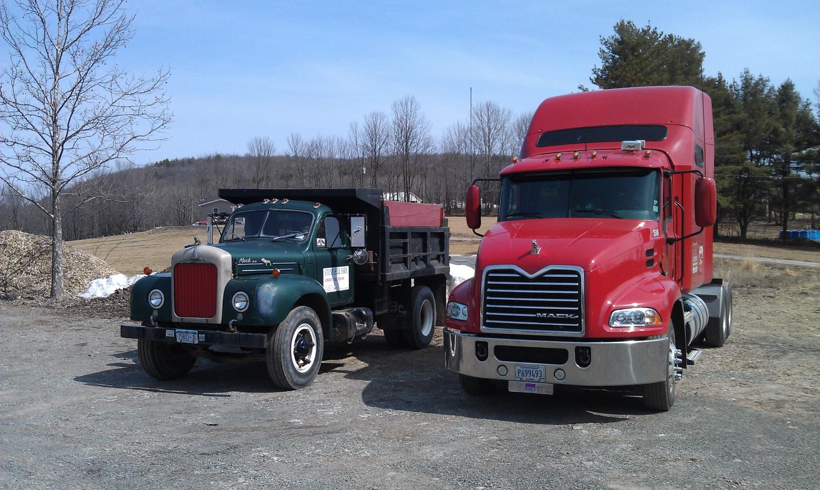 1956 Mack B-42 Dump Truck