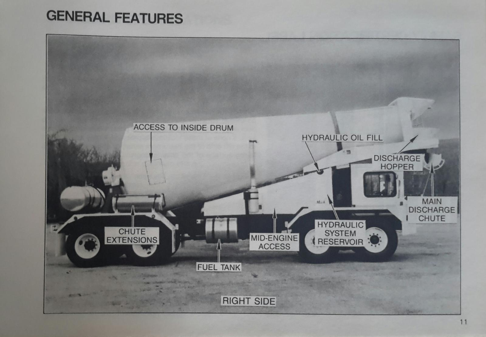 Mack/Savage FDM 700 Mixer Operator's Manual  ( Page 11 )