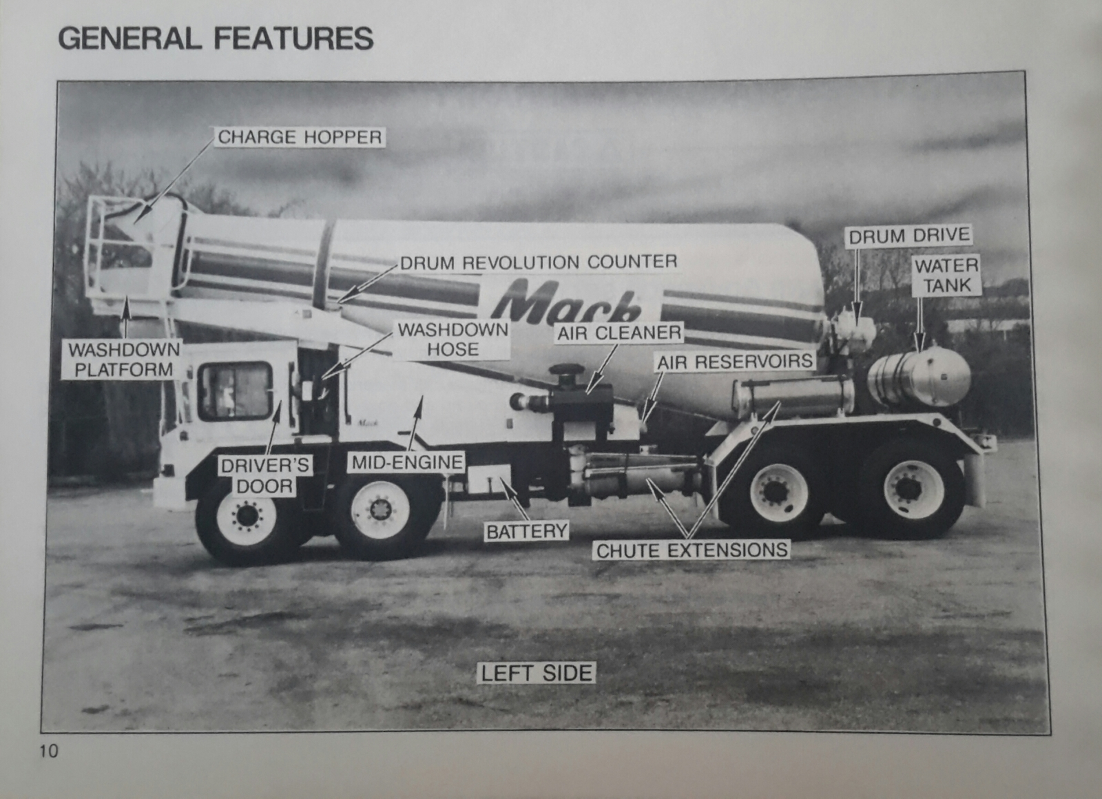 Mack /Savage FDM 700 Mixer Operator's Manual  ( Page 10 )