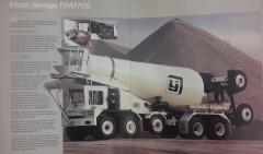 1990 Mack/Savage FDM700 Mixer Brochure  ( Beginning )