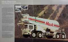1990 Mack/Savage FDM700 Mixer Brochure  ( End )