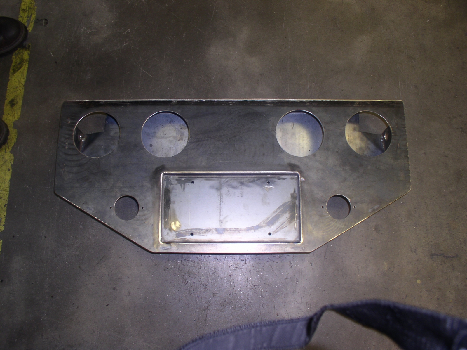 Truck taillight mount front