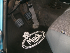 Mack Floor Mat Installed - Driver's Side