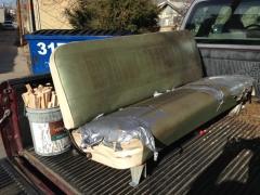 Original Bench Seat - BEFORE #1