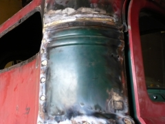 upper cab corner repair