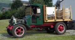 """1923 AB 132"""" wb flatbed"""
