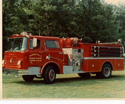 1968 Mack Truck : Mack cf fire engine truck stories bigmacktrucks