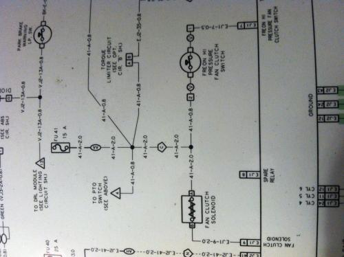 peterbilt 357 wiring diagram with 29075 Fan Clutch Stays On on Dodge D Series D100 600 And Power Wagon together with 7y6ua 2006 Peterbilt 335 Serial 653179 Right Signals in addition Wabco Abs Wiring Diagram in addition Search furthermore SK18250.
