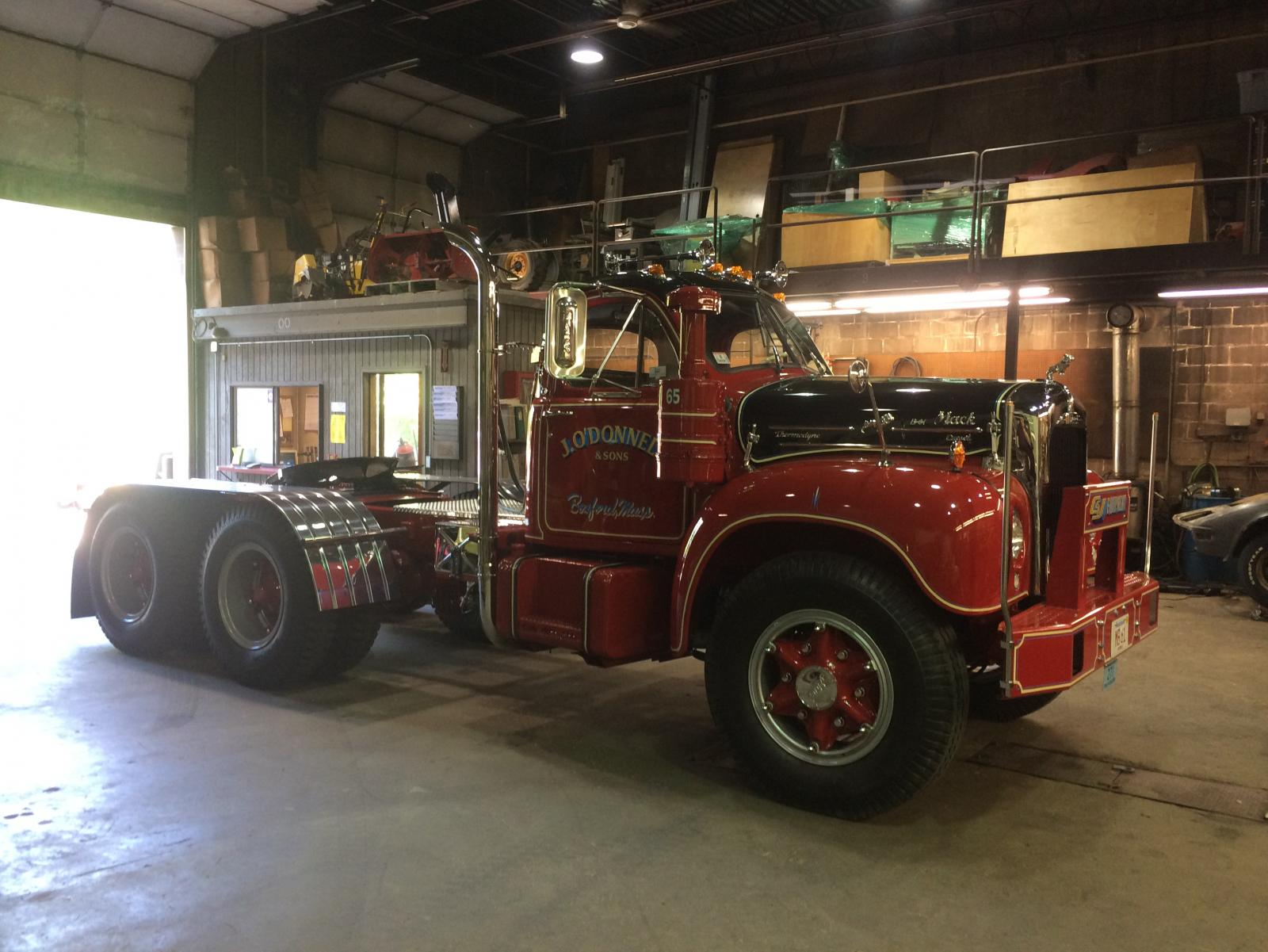 Old school truck lettering - Page 2 - Antique and Classic Mack Trucks General Discussion ...