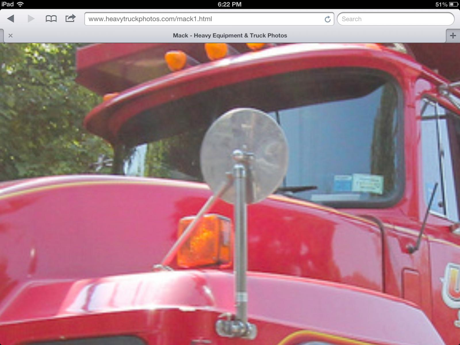 Fender Mirror Rd Exterior Cab Accessories And