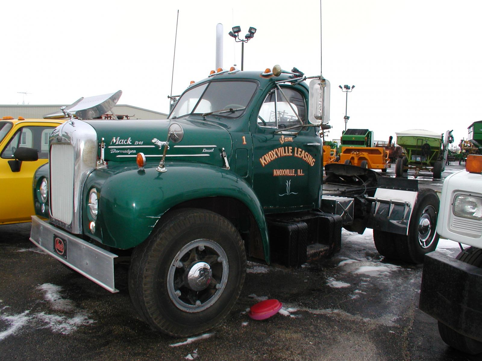Spotted B-61 for sale - Antique and Classic Mack Trucks ...